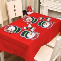 Family Christmas Tányér- és poháralátét - hóember - 8 db / csomag