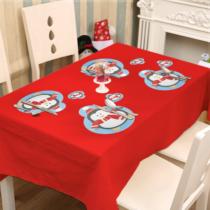 Family Christmas Tányér- és poháralátét - pingvin - 8 db / csomag