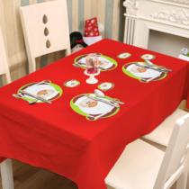 Family Christmas Tányér- és poháralátét - mikulás - 8 db / csomag