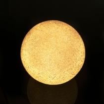 LED kristály hógolyó - 8 cm