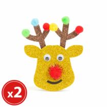 Family Christmas Karácsonyfadísz szett - rénszarvas - 2 db / csomag