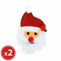 Family Christmas Karácsonyfadísz szett - mikulás - 2 db / csomag