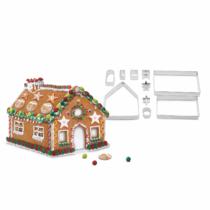 Family Christmas Sütikiszúró forma - 3D mézeskalács házikó