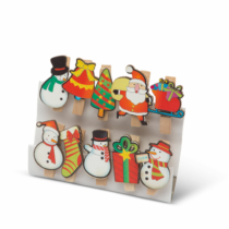 Family Christmas Karácsonyi csipesz szett - karácsonyi mix