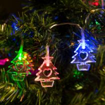 Family Christmas Fényfüzér - LED - Fenyőfa