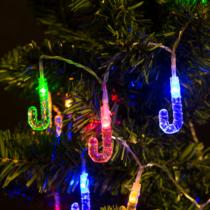 Family Christmas Fényfüzér - LED - nyalóka