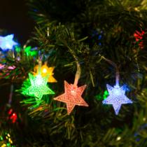 Family Christmas Fényfüzér - LED - csillag