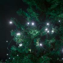 Family Christmas Fényfüzér - 100 db LED - hidegfehér - hálózati - 5 m