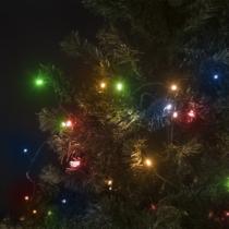 Family Christmas Fényfüzér - 200 db LED - 10 m - Színes - hálózati