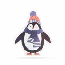 Family Christmas Karácsonyi RGB LED dekor - öntapadós - pingvin