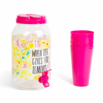 Family Pound Italadagoló csappal, műanyag pohárszettel