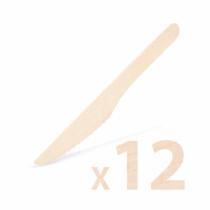 Family Pound Fa evőeszköz készlet - kés - 12 db