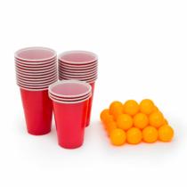 Family Party Sörpong készlet - 24 db labda és pohár