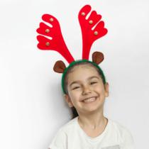 Family Christmas Karácsonyi hajráf - rénszarvas