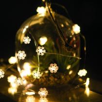 Family Christmas Karácsonyi LED fényfüzér - 20 LED - 2 méter - melegfehér - 3 x AAA