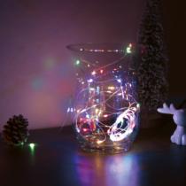 Family Decor LED fényfüzér - 5 m - 50 LED - multicolor - 3 x AA