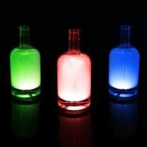 Family Christmas Üveg LED dekor - öntapadós - 4 db RGB LED - elemes működés