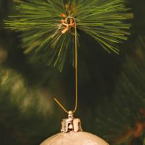 Family Christmas Szaloncukor akasztó - arany - 150 db / csomag