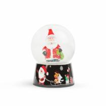 Family Christmas Karácsonyi hógömb - 4 féle - 12 db / display