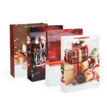 Family Christmas Karácsonyi ajándéktasak