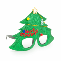 Family Christmas Party szemüveg - Karácsonyfa mintával