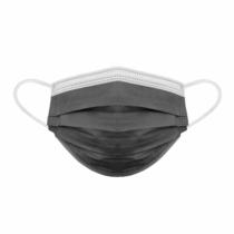 Globiz Szájmaszk - 3 rétegű - fekete - 10 db / csomag