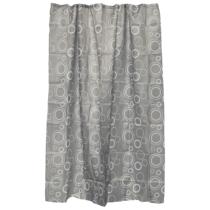 Bath Duck Zuhanyfüggöny - Textil - 180 X 200cm - 3 - Szürke
