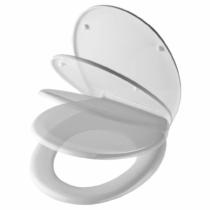Bath Duck Wc-Ülőke - Easy Click - Soft Close - Lecsapódásmentes Zsanérokkal - Fehér