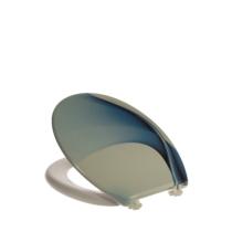 Bath Duck Wc-Ülőke - Duroplaszt - Műanyag Zsanérokkal - Kék Hullám