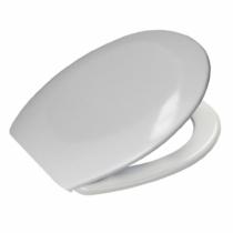 Bath Duck Wc-Ülőke - Műanyag Zsanérokkal - Fehér - Duroplaszt