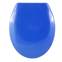 Bath Duck Wc-Ülőke - Duroplaszt - Rozsdamentes Acél Zsanérokkal - Kék