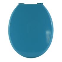Bath Duck Wc-Ülőke - Mdf Színes - Műanyag Zsanérokkal - 1a Kék