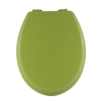 Bath Duck Wc-Ülőke - Mdf Színes - Műanyag Zsanérokkal - 3b Zöld