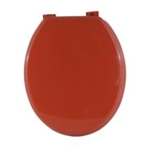 Bath Duck Wc-Ülőke - Mdf Színes - Műanyag Zsanérokkal - 5 Korall