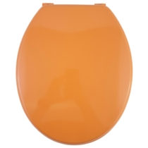 Bath Duck Wc-Ülőke - Mdf Színes - Műanyag Zsanérokkal - 7 Narancssárga