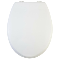Bath Duck Wc-Ülőke - MDF - Fehér - Műanyag Zsanérokkal Fehér
