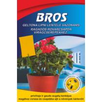 Bros Rovarfogó Sárga Lap Virágcserepekhez 10db-Os