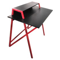 MyLike Gamer Asztal - Fekete/Piros