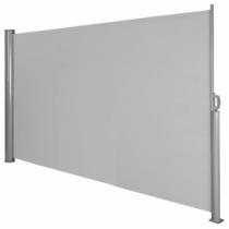 MyLike Kihúzható Árnyékoló Fal, 300x160cm - Szürke, teraszokra - udvarra - irodában  - öltözőkbe