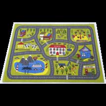 Magic Home Gyerekszőnyeg 134x180cm - Iskola Térkép