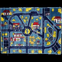 Magic Home Gyerekszőnyeg 134x180cm - Traffic - Blue