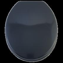 Bath Duck Wc-Ülőke - Mdf Színes - Műanyag Zsanérokkal - 4 Éjjkék (Sötét Grafitos Kék)