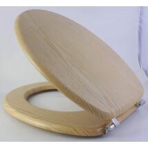 Bath Duck Wc-Ülőke - Mdf - Mintás  - Rozsdamentes Acél Zsanérokkal - Fenyő