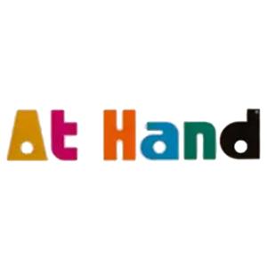 At Hand Kézfertőtlenítő Push-Pull Kupakkal 500ml (Utántöltő folyadék)