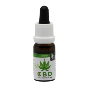 Euphoria Cannabis Olaj 10ml CBD 5%