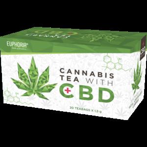 Euphoria Cannabis CBD Tea 20X1,5g