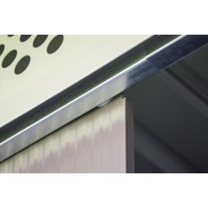 G21 Kerti Ház / Tároló - Fém - Szürke - 203x172cm (GBAH 418)