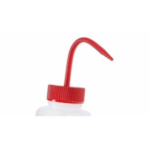 RS PRO 500ml LDPE Széles Nyakú Mosópalack - Adagolószállal - Piros