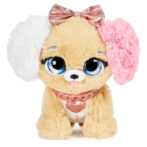 Spin Master Present Pets Interaktív Meglepetés Kutyus - Pink Masnival