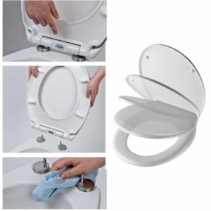 Bath Duck Wc-Ülőke - Easy Click - Soft Close - Lecsapódásmentes Zsanérokkal - Lovak